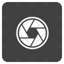 Shutter Camera Focus Icon