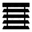 Shutter Window Blinds Icon