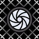Shutter Lens Optics Icon
