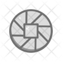 Shutter Camera Lens Icon