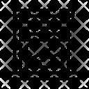 Window Shutters Pvc Icon