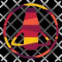 Shuttle Space Rocket Icon