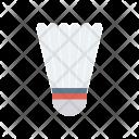 Shuttlecock Shuttle Badminton Icon