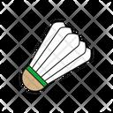 Shuttlecock Badminton Sport Icon