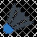 Shuttlecock Badminton Spot Icon