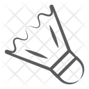 Badminton Birdie Badminton Feather Shuttlecock Icon