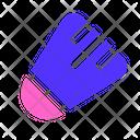 Sport Badminton Shuttle Cock Icon