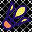 Shuttlecock Badminton Ball Icon