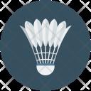 Badminton Ball Feathers Icon