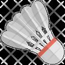 Shuttlecock Badminton Game Icon