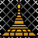 Shwedagon Landmark Burma Icon