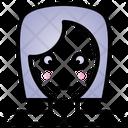 Shy Feeling Face Icon