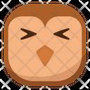 Shy Hurt Owl Icon