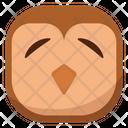 Shy Owl Icon