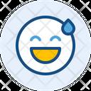 Shy Emoji Expression Icon