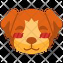 Shy Emoji Emoticon Icon