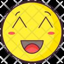 Shy Emoji Shy Expression Emotag Icon