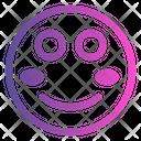 Shy Emoji Cute Emoji Icon
