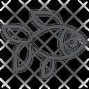 Siamese Fish Seafood Specie Icon