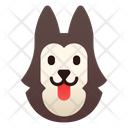 Siberian Husky Dog Puppy Icon