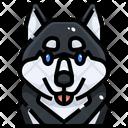 Siberian Husky Dog Puppy Icon