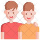 Sibling Brother Children Icon