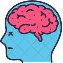 Particulate Pollution Brain Icon