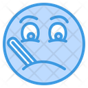 Sick Thermometer Sickness Icon