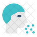 Head Disease Sneezing Icon