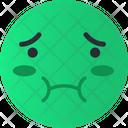 Sick Smiley Avatar Icon