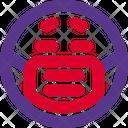 Sick Emoji With Face Mask Emoji Icon