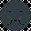 Sick Emoji Face Icon