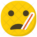 Sick Emoji Emoticon Smiley Icon
