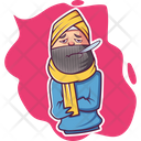 Sick Punjabi Man Icon