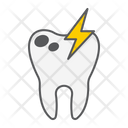 Sick Illness Tooth Icon
