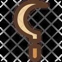Sickle Farm Tool Icon