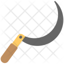Sickle Knife Curved Icon