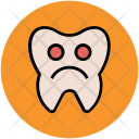 Sickly Tooth Pathology Icon
