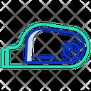 Side Mirror Icon