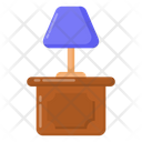 Table Lamp Side Table Bed Table Icon