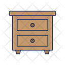 Side Table Table Furniture Icon