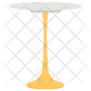 Side Table Round Table Fancy Table Icon