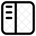 Sidebar Layout Symbol Icon