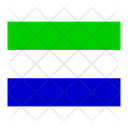 Sierra Leone Flag Flags Icon