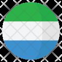 Sierra Leone Flag Icon
