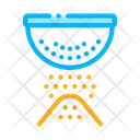 Sifting Flour Preparation Icon
