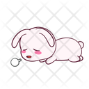 Tired Lying Bored Icon