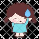 Sigh Sweat Bored Icon