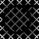 Sigma Greek Alphabet Icon