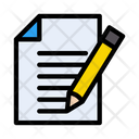 Sign Contract File Icon